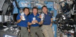gory ISS drinking recycled water NASA free