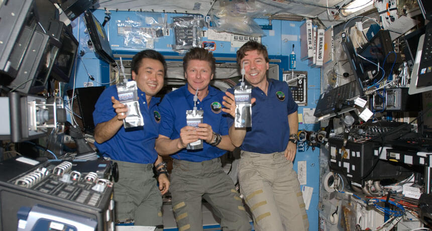 Could astronaut urine be the key to safer space travel?