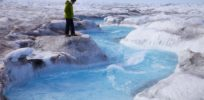 Melting Greenland ice sheet could release pollution—and beneficial microbes evolved to 'chow down' toxins