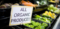 Why do consumers prefer organic to conventional produce when both use pesticides?
