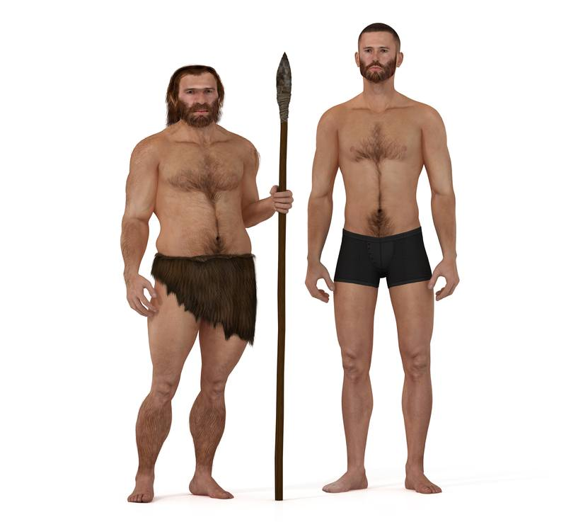 Our Neanderthal ancestors affect how we look and act today