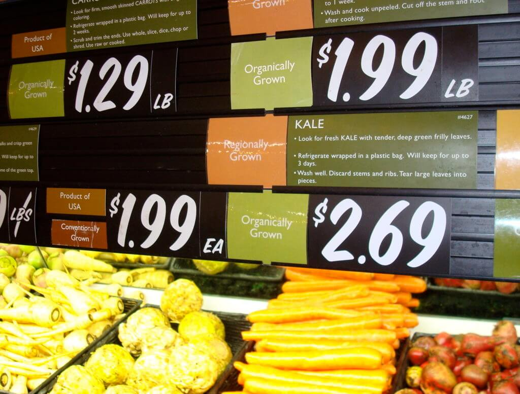 higher prices and uncertain benefits are organic foods