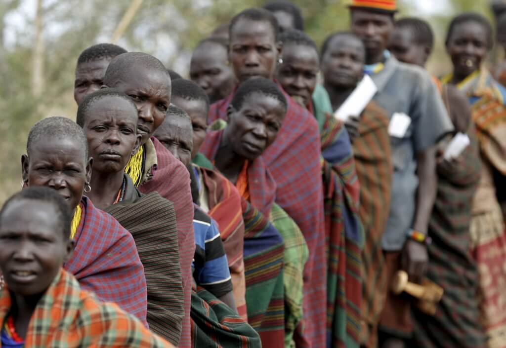 uganda ugandan tribe social karamoja vote elections karamojong wait ugandans ug town line africa polling region seven hour delays kaabong