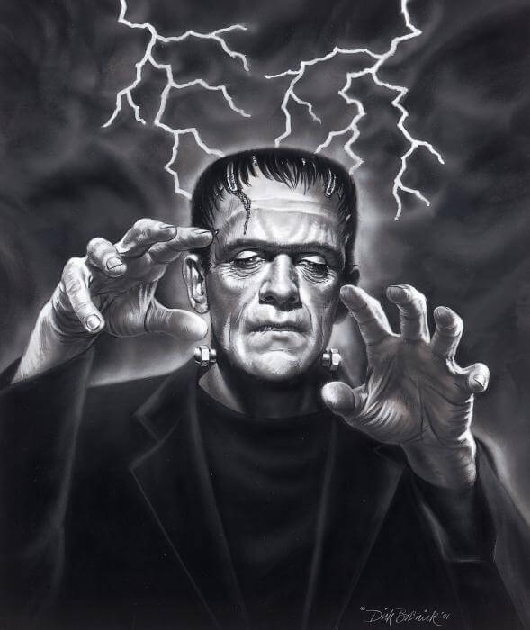 Frankenstein emerges from the Storm