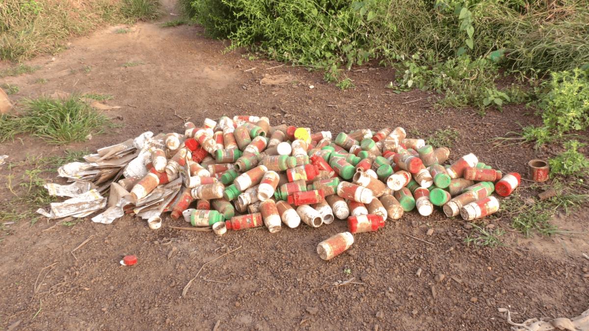 pesticide bottles africa 3843437