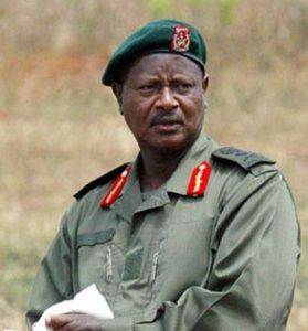 yoweri president de louganda