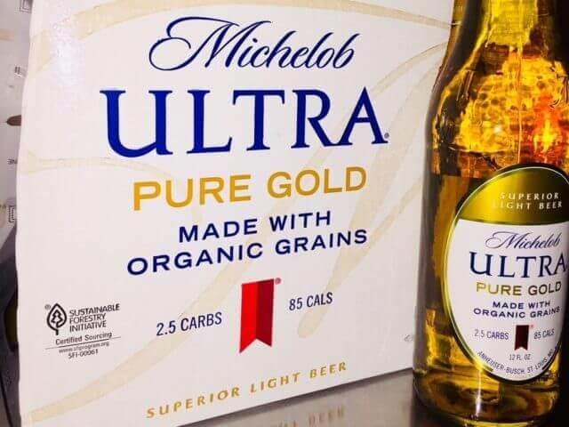 Michelob Ultra organic beer 32747
