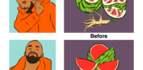 Artist illustrates how humans 'genetically modified' food since the dawn of agriculture