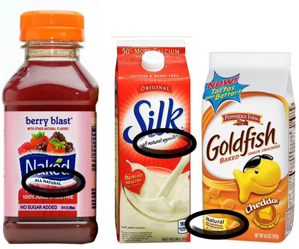 natural food label 438237