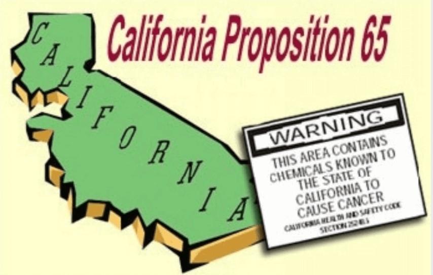 California Prop 65 glyphosate 84327