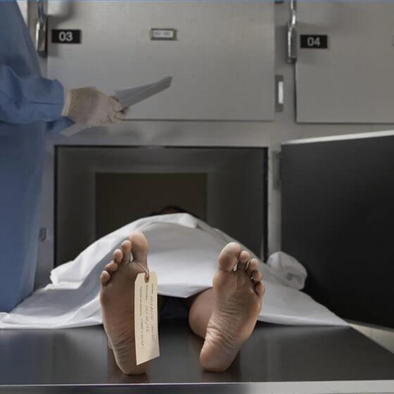 determine bodys time death x