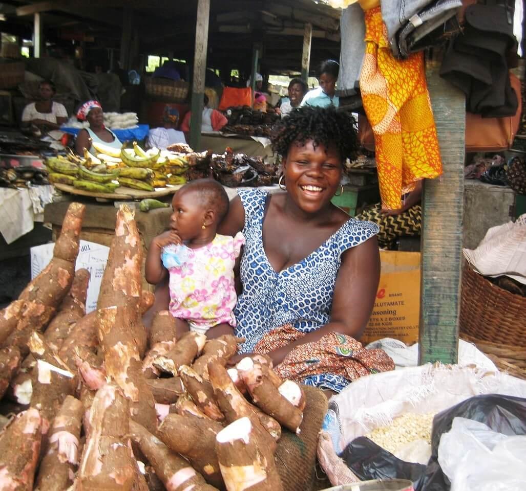 Ghana africa GMO food crop 4322789