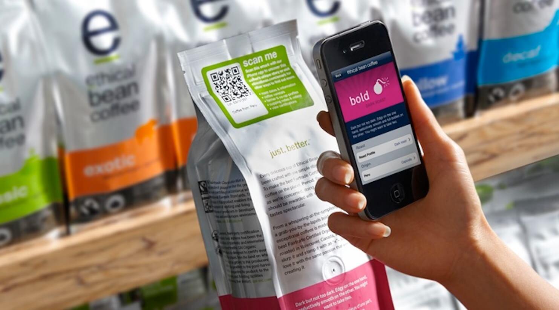QR code food packag scan