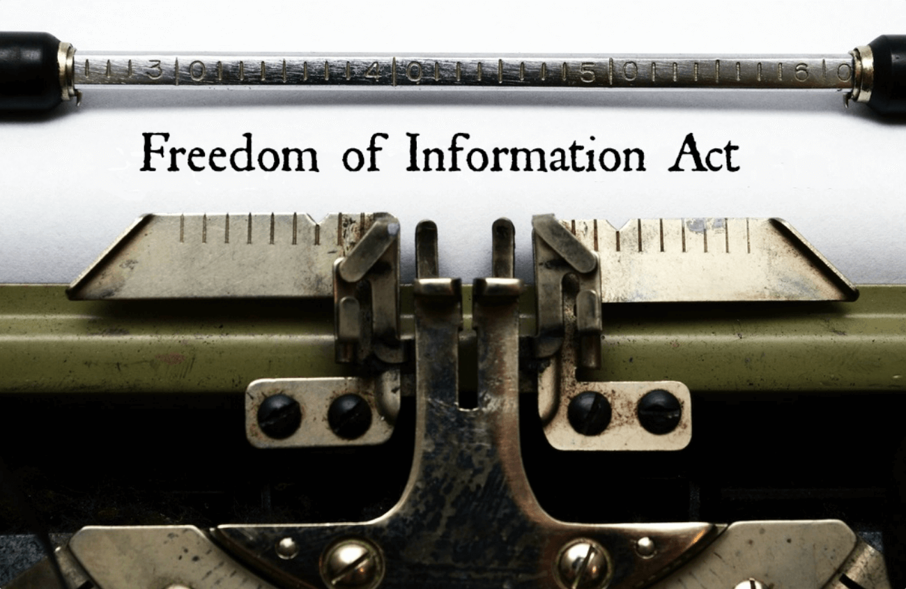 Freedom of Information Act 43727