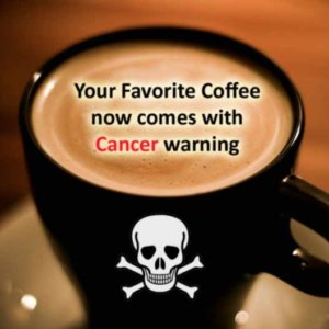 coffee cancer e