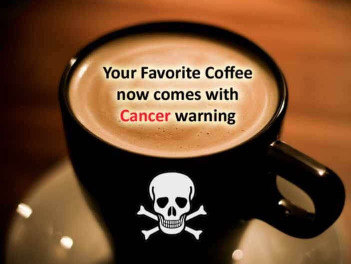 California Coffee Shops Must Post Cancer Warnings