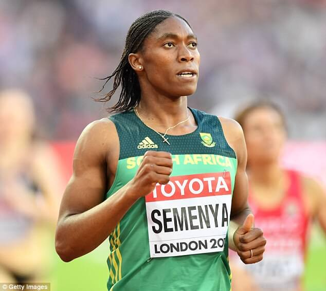 New testosterone limits could force female runner Caster