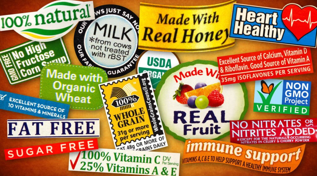 GMO organic food label 32737