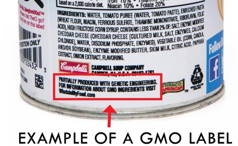 GMO label 823