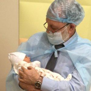 dr zukin with three parent baby born in kiev x