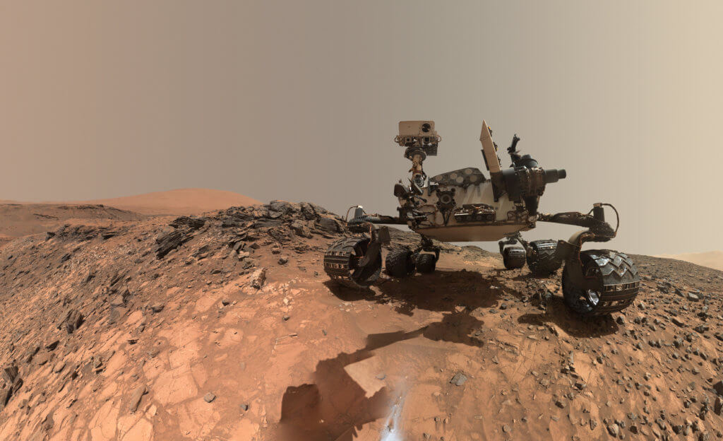 A massive dust storm on Mars has recently hit NASA's Opportunity Rover