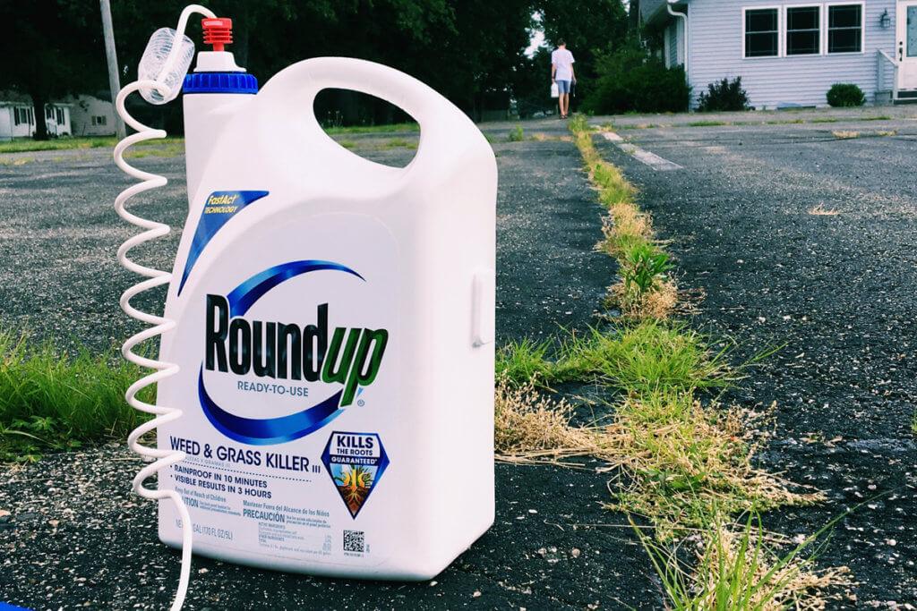 glyphosate trial spray bottle