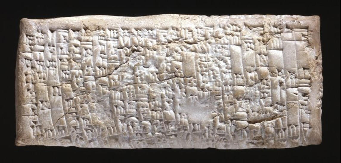 7-10-2018 Ancient-Babylonian-Tablet