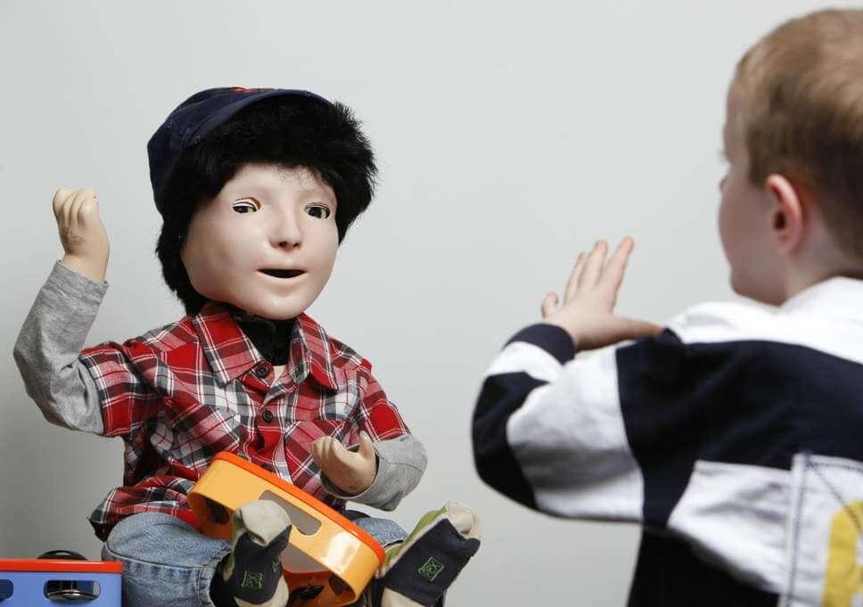 kaspar robot autism