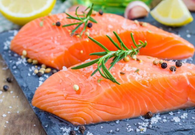 Salmon x