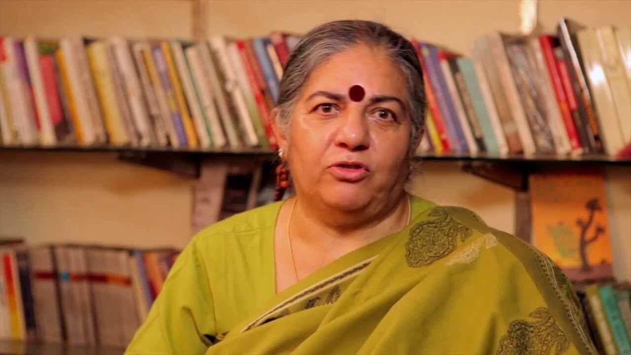 Video: Biochemist Myles Power dresses down Indian anti-GMO philosopher and 'green revolution' critic Vandana Shiva