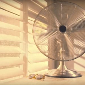 oscillating fan primary