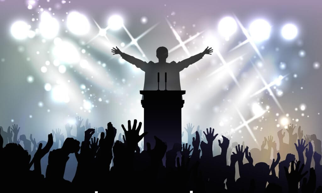 politician speech