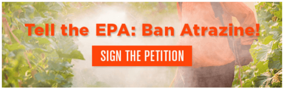 atrazine banning petition united states