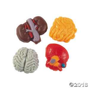 halloween body parts gummy candy a