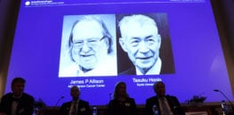 Pioneering cancer immunotherapy researchers awarded Nobel Prize in medicine