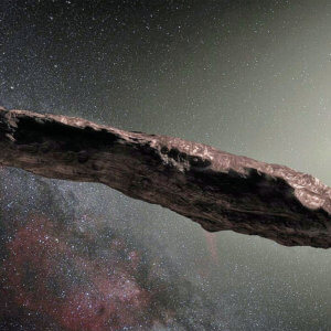 oumuamua asteroid space ESO