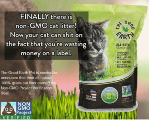 finally there is go non gmo cat litter now your cat