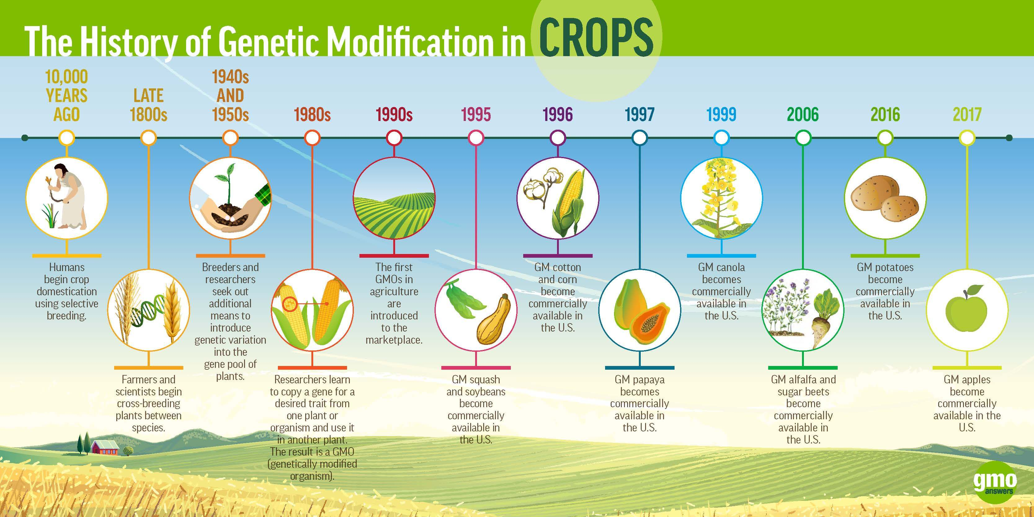 gmoa history of gm in crops x px jan