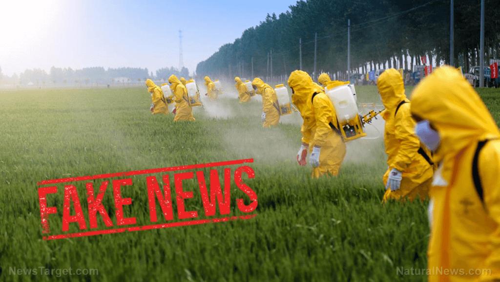 pesticides fake news