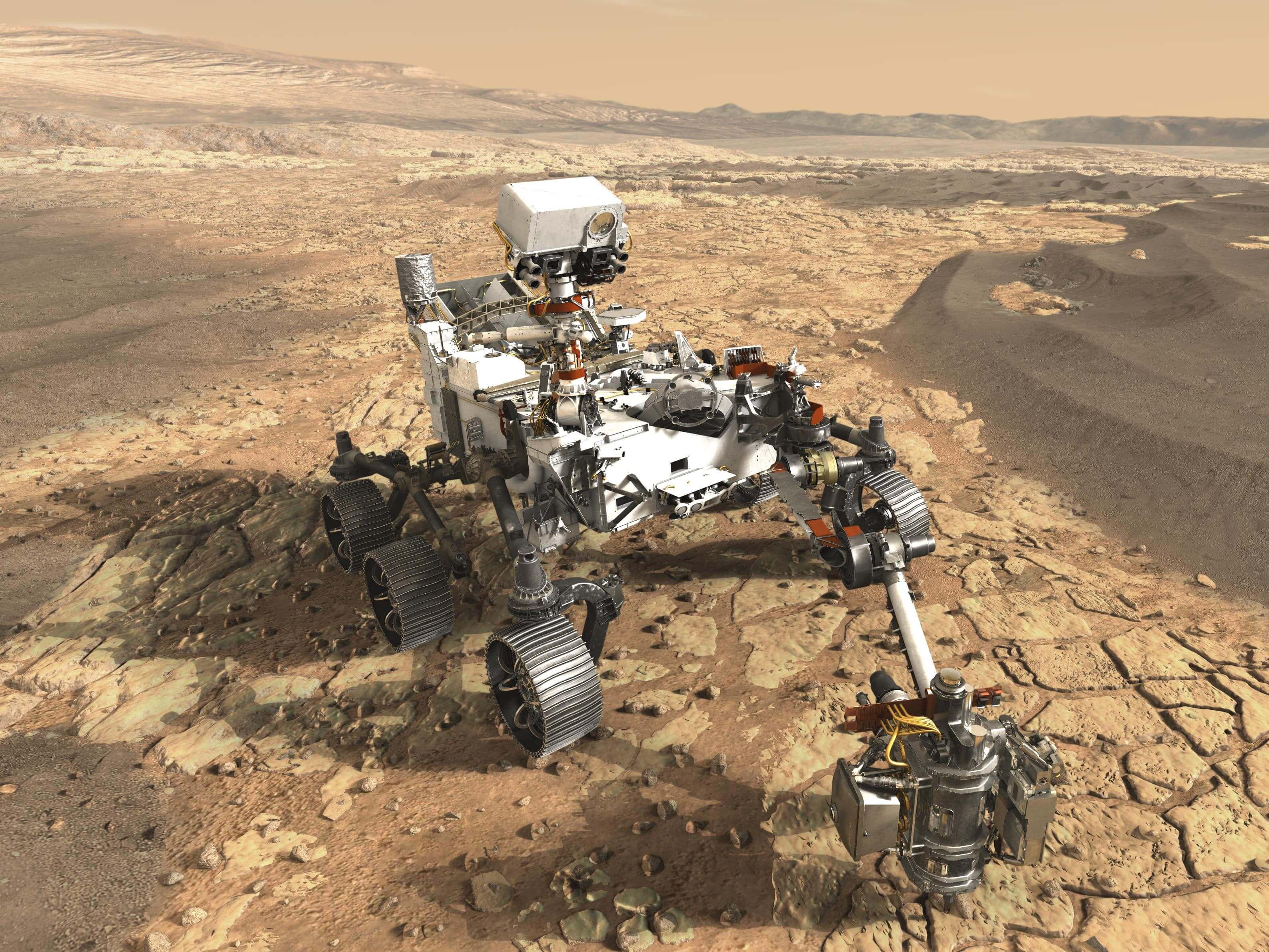 nasa mars rover - HD2000×1370
