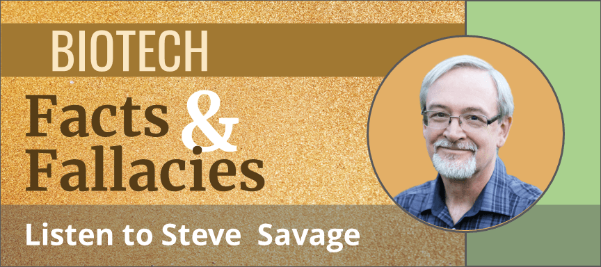 steve savage biotech facts fallacies side tile