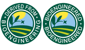 derived from bioengeneered