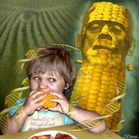 demon child of franken corn © david dees illustration deesillustration com
