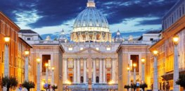 stock vatican peters basilica x