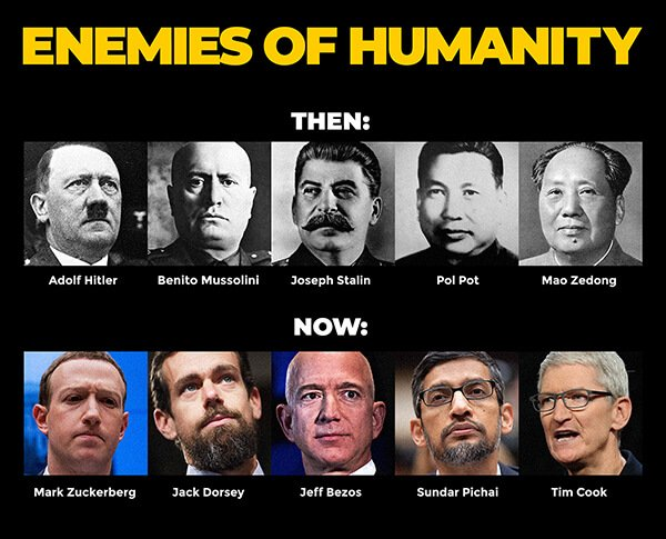 enemies of humanity then now
