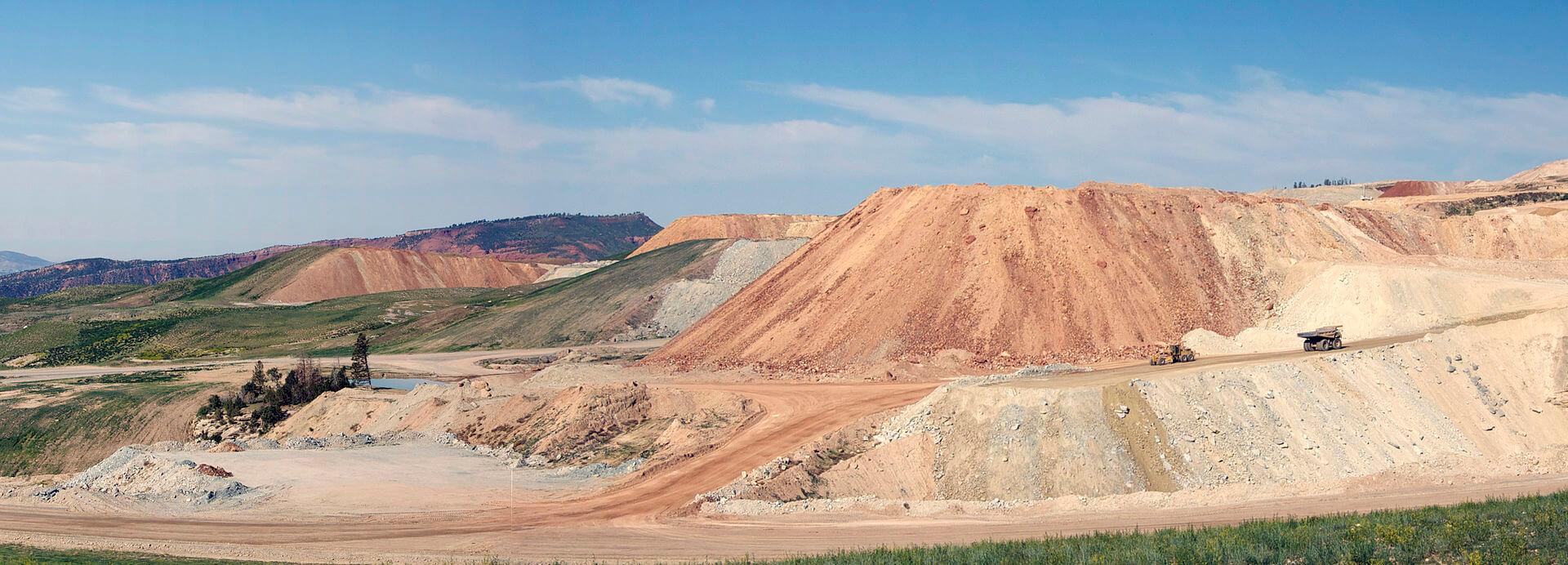 px phosphate mine panorama