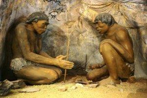 diorama cavemen compressed x