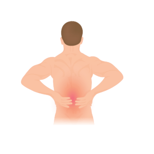px lower back pain svg