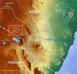 tsavo national park map en adjusted x