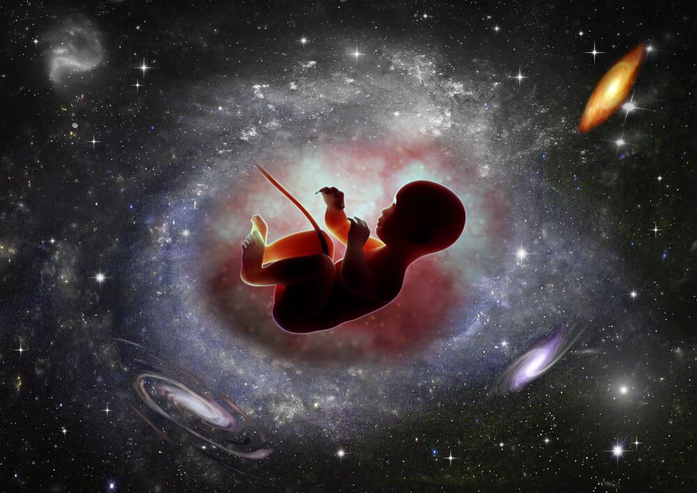 baby born in space